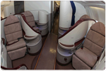 Business Class Seat space