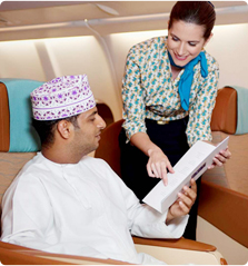 Oman Air First Class Flights