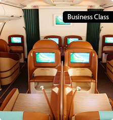 Oman Air Business Class Flights