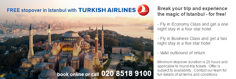Turkish Airline Stopover Offer