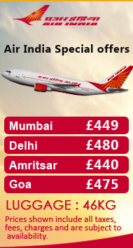 Cheap Flights To India Tickets To India Official Website