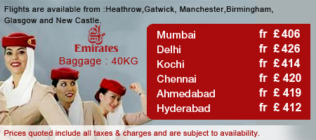 Emirates Airways Fantastic Sale