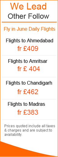 Tickets To India Cheap Flights To India